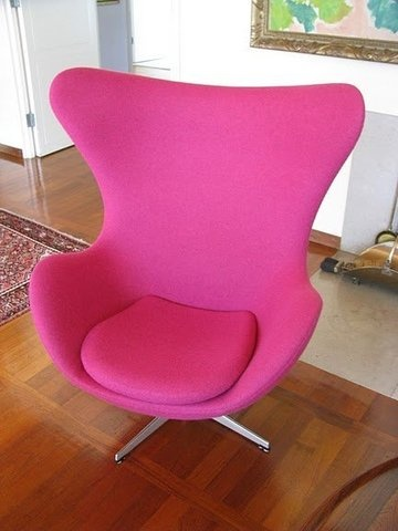arne jacobsen egg chair 1959 pink pinterest chairs egg chair and arne jacobsen. Black Bedroom Furniture Sets. Home Design Ideas