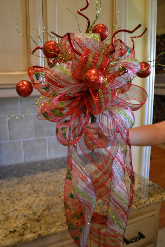 Christmas Tree Topper  @Melissa Squires Squires Squires Squires Squires K Duncan ...we need to make these for our trees!