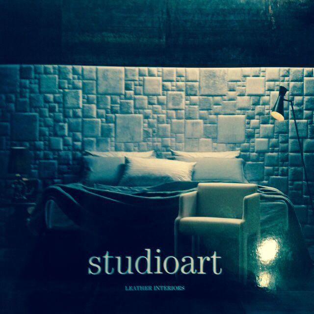 Ab sofort bei uns erhältlich Leder-Wandbeläge von Studioart