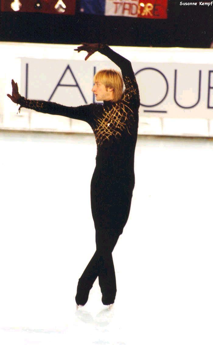 Evgeni Plushenko, Russian ice skater extraordinaire. He is indeed cool. :)