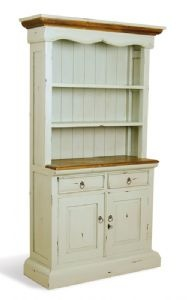 Farmhouse Antiqued Kitchen Dresser   This Is Almost The Style Of My Dresser    Two Doors