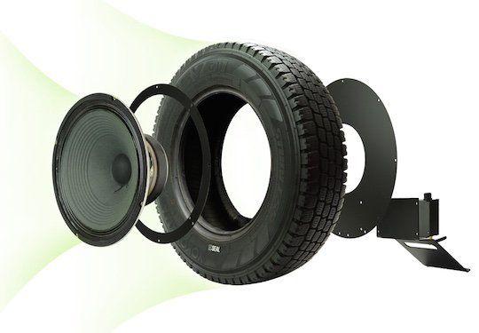 Fancy - Seal Recycled Tire Speaker