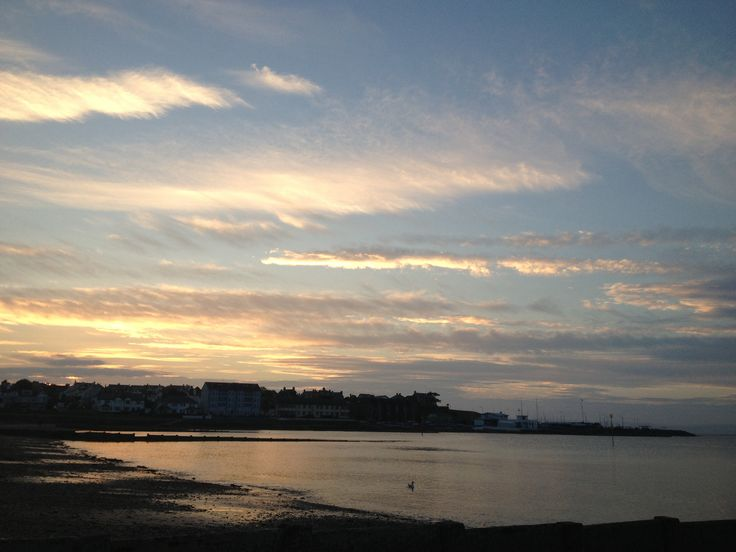 Sunset, Ballyholme Beach