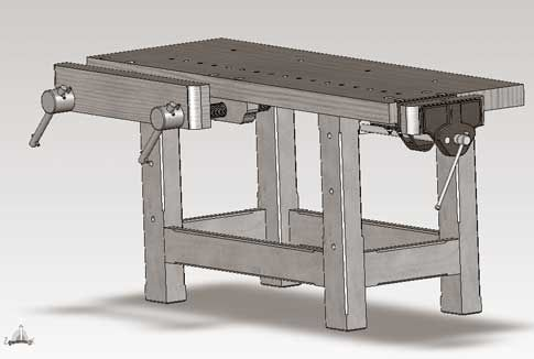 Free eDrawings of Holtzapffel Workbench Now Available ...