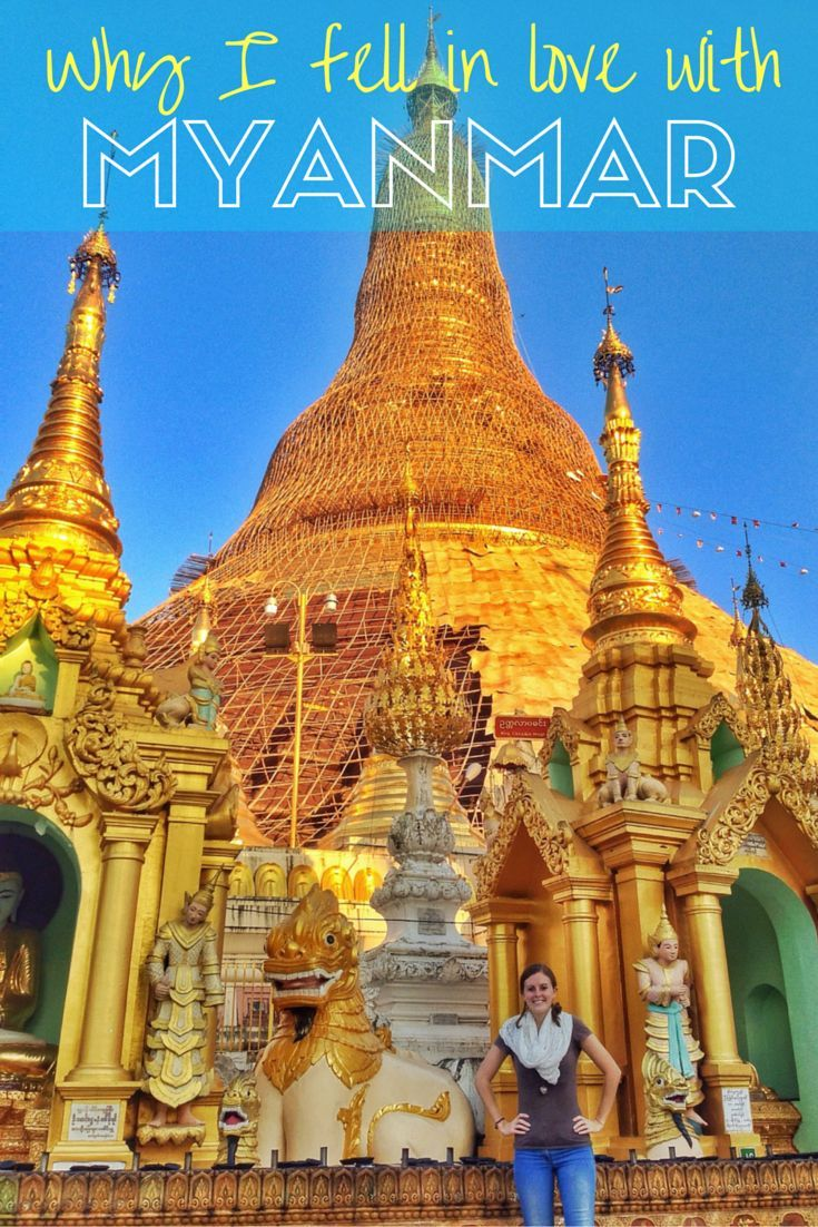 Myanmar/Burma is one of the most fascinating countries in Southeast Asia! There aren't many tourists, the locals are lovely, and the scenery is spectacular! I highly recommend visiting before it changes.