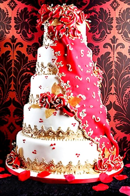 Indian Wedding Cakes Ideas Archives