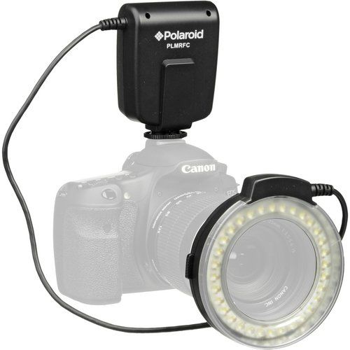 Polaroid LED Macro Ring Flash & Light For The Canon Digital EOS Rebel T3 (1100D), T3i (600D), T1i (500D), T2i (550D), XSI (450D), XS (1000D), XTI (400D), XT (350D), 60D, 50D, 40D, 30D, 20D, 10D, 5D, 1D X, 1D, 5D Mark 2, 5D Mark 3, 7D Digital SLR Cameras (Will Fit 52,55,58,62,67,72,77mm Lenses) $39.99