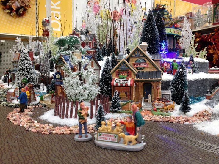 124 best Christmas VILLAGE Display Ideas images on Pinterest | Christmas villages, Christmas ...