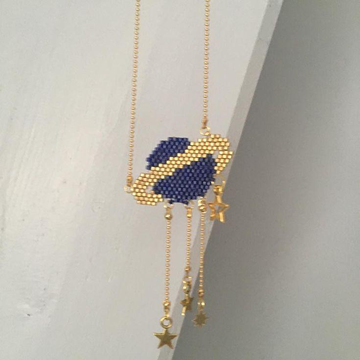 "72 mentions J'aime, 4 commentaires - Calou (@proserpyne60) sur Instagram : ""#miyukibeads #jenfiledesperlesetjassume #cestmoiquilaifait #bohostyle #brickstitch #jewels ##bijoux…"""