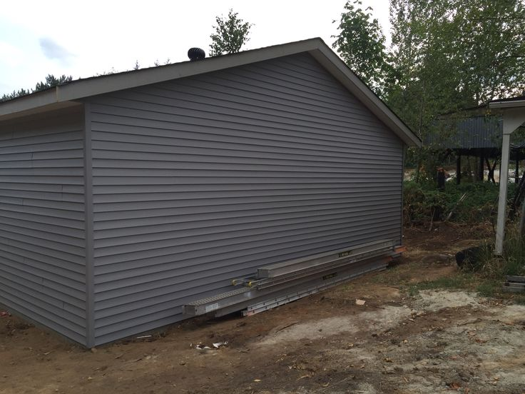 Siding done