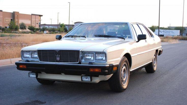 1982 Maserati Quattroporte price less than € 10K & low mileage | Flickr - Photo Sharing!