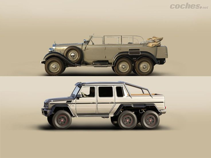 Mercedes benz g4 6x6 de 1934 con 110 cv arriba vs for Mercedes benz g4