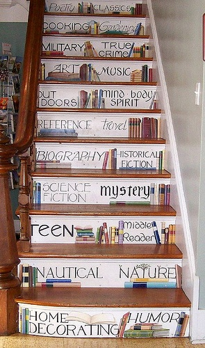 Edgartown bookstore stairs, Martha's Vineyard
