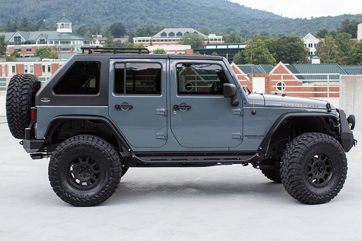 2015 Jeep Wrangler Rubicon Unlimited Anvil - Passenger