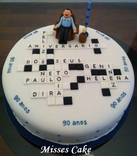 bolo de 90 anos feminino - Pesquisa Google