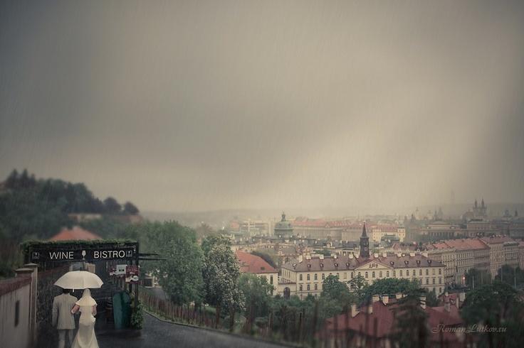 Настоящая Прага…  Свадьба в Праге