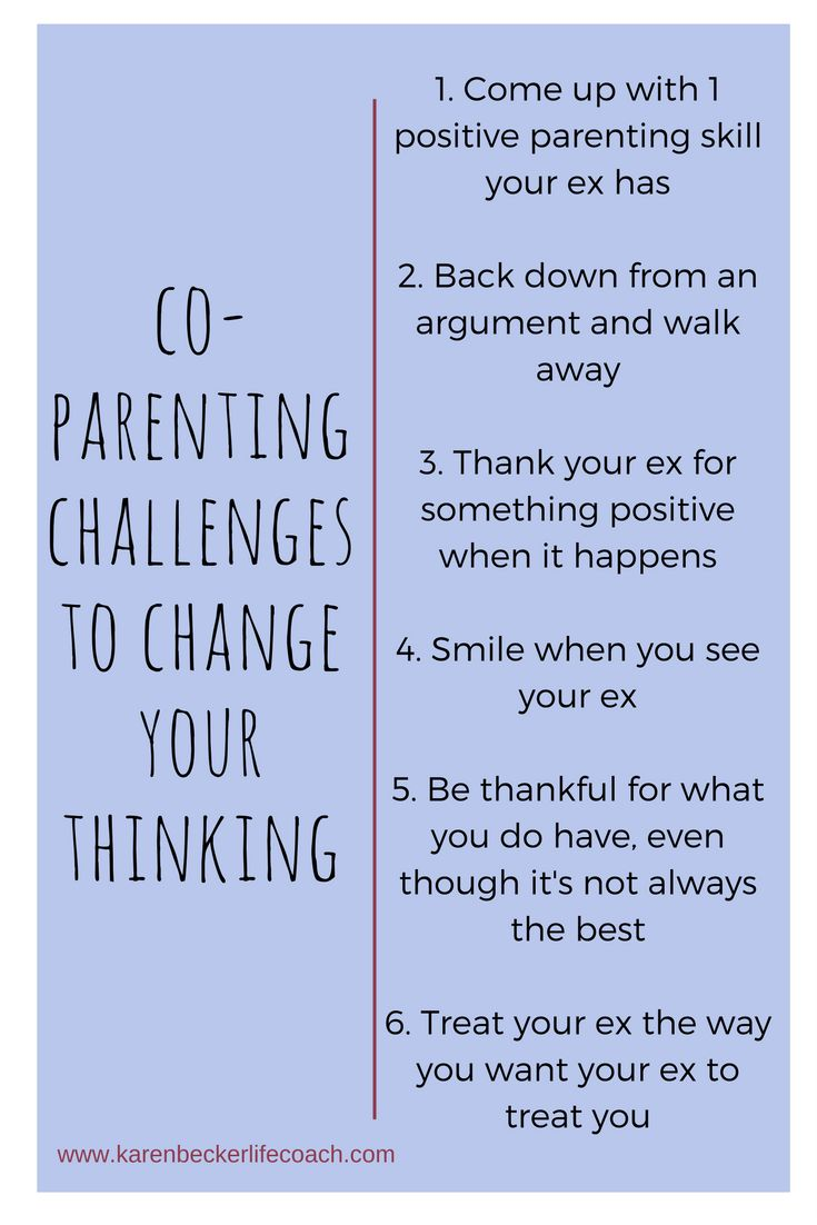 relationship advice co parenting