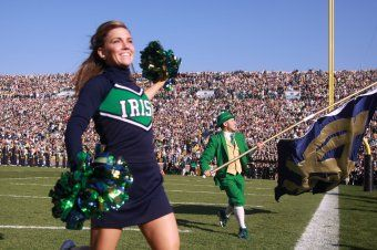 "Exclusive Excerpt from my book ""Life as the Notre Dame Leprechaun: Behind the Face of the Fighting Irish"" signed & personalized copies available now at www.LeprechaunBook.com"