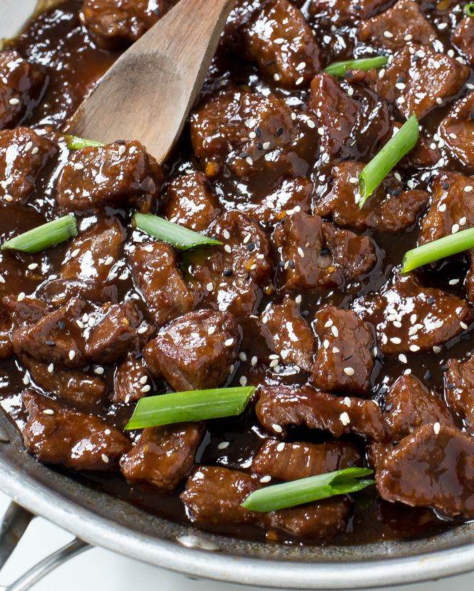 30 Minute Mongolian Beef - Chef Savvy