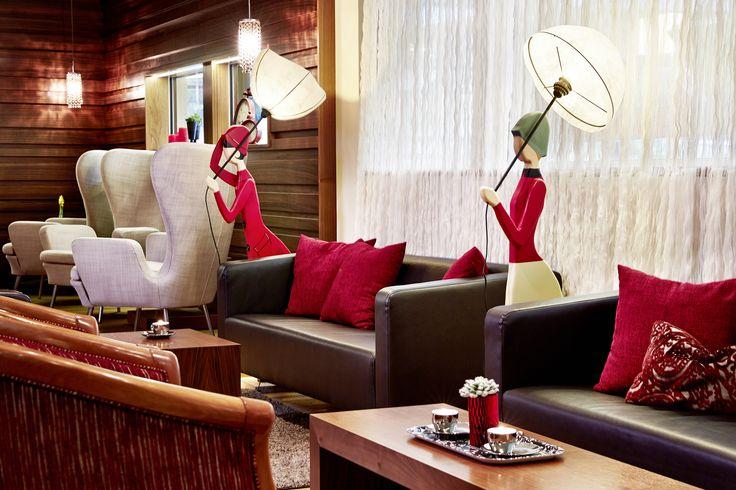 Lounge im Hotel Feldhof Naturns