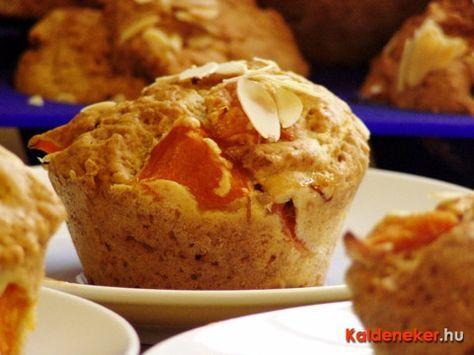 Barackos-joghurtos muffin