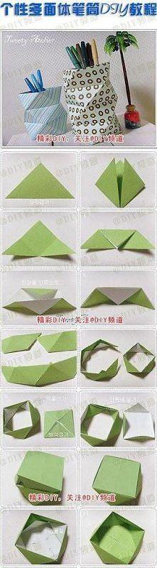 Potrzebne: Papier techniczny - kolorowy Taśma klejąca Nożyczki