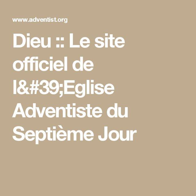 Dieu :: Le site officiel de l'Eglise Adventiste du Septième Jour