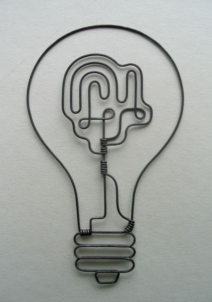 Rodger Stevens : wire sculptures | FLODEAU