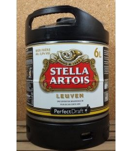 Stella Artois 6 L Keg Perfect Draft