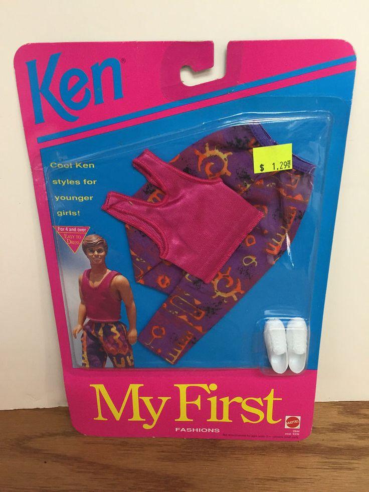 1992 Mattel Barbie KEN My First Fashions #2944 * Original sealed package! #Mattel