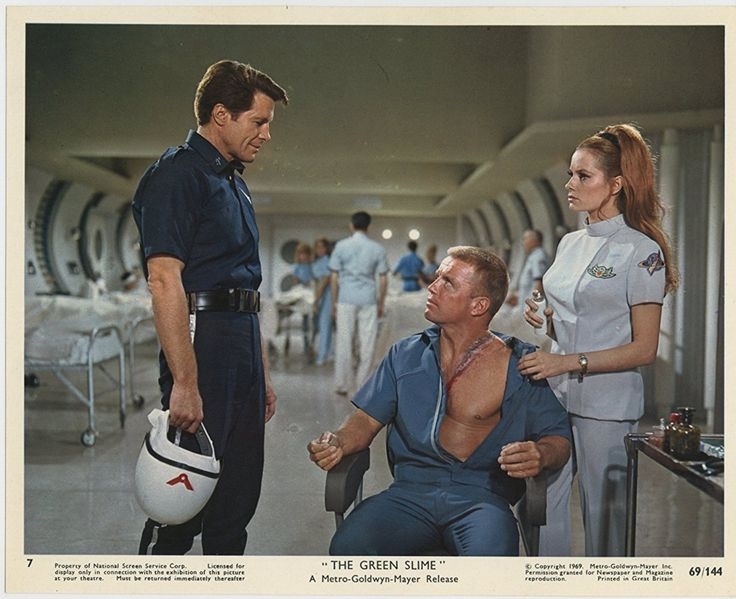 Sixties | Richard Jaeckel, Robert Horton and Luciana Paluzzi in The Green Slime, 1968