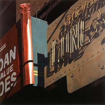 Robert Cottingham, Lone Star | Plus One Gallery