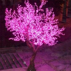 Led Lighted Artificial Cherry Blossom Trees Indoor Wedding Tree Decoration P Home Accessories