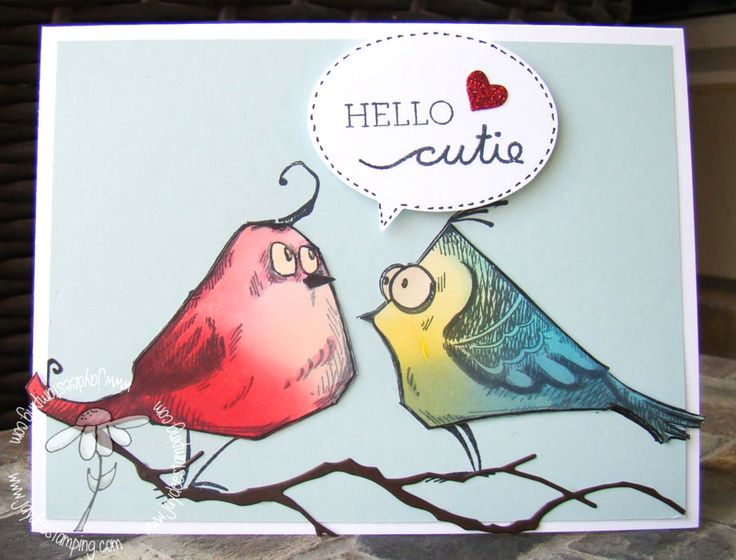 Tim Holtz Bird Crazy stamps