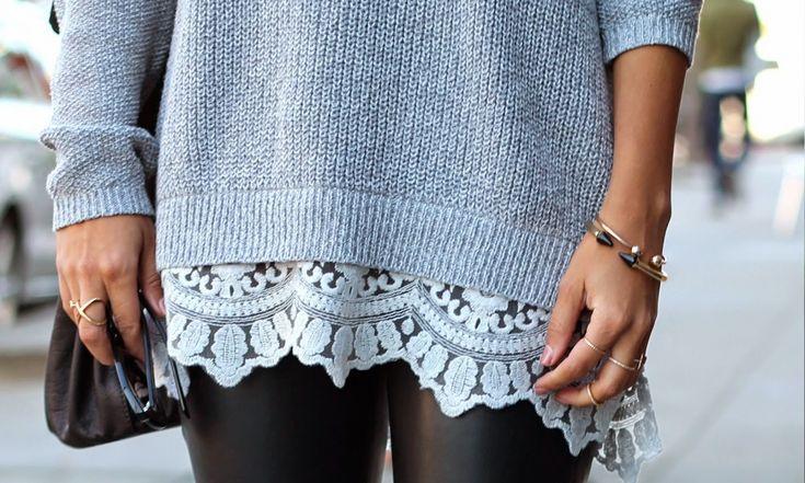 Переделка свитера #DIY #fashionattack #свитер