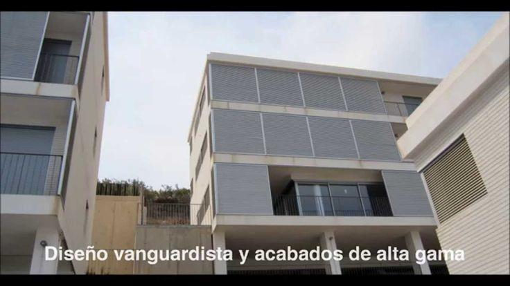 Residencial La Colomera Urbanización vanguardista suspendida en la montaña y frente al mar