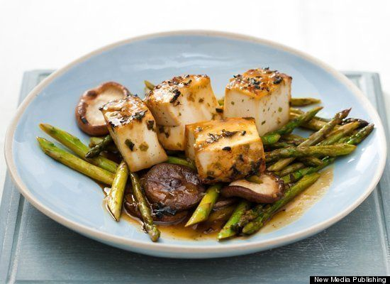 Tofu Recipes: 10 Easy Ways To Cook Tofu: Miso Glaz Tofu, Pan Seared Shiitak, Japanese Recipe, Glaze Tofu, Healthy Tofu Recipe, Cooking Tofu, Healthy Food, Best Vegans Recipe, Vegans Recipe Dinners