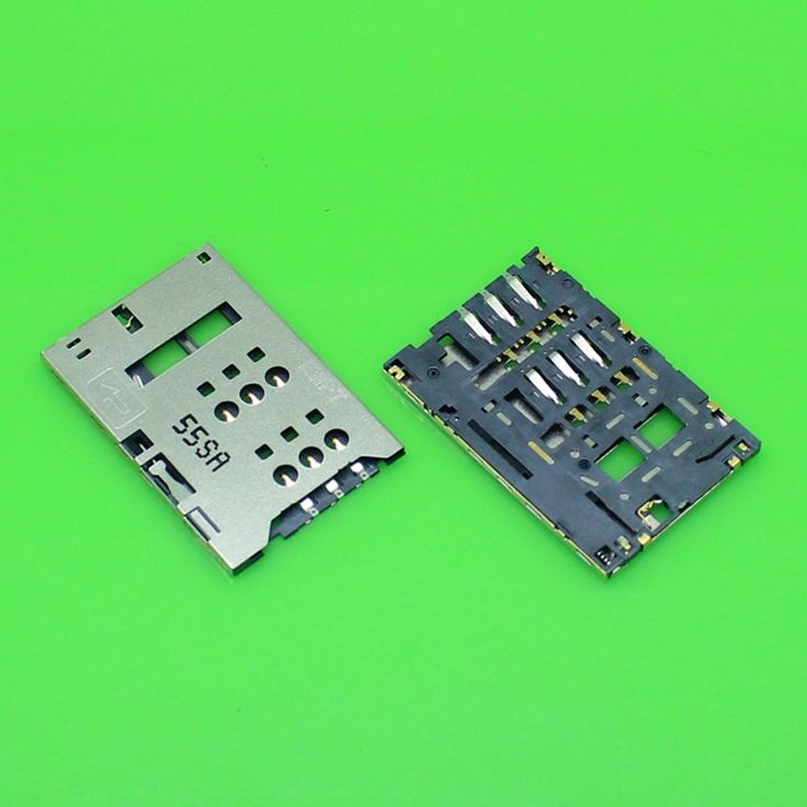 2pcs/lot 100% New SIM Card Socket Holder Tray Replacement for Sony ST25I for Huawei Ascend T9200 U9200E P1 X2-02 High Quality #Affiliate