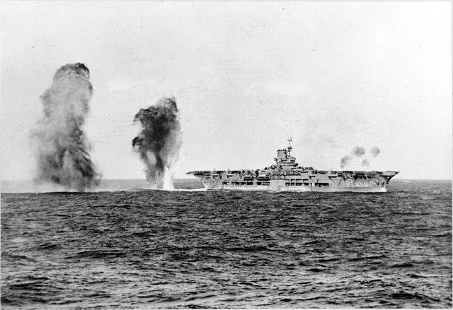 27 November 1940 worldwartwo.filminspector.com Cape Spartivento HMS Ark Royal