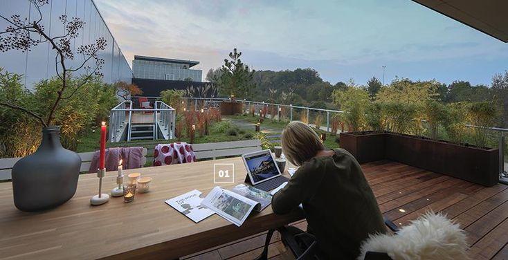 Buiten werken, outdoor office - Spring - Outdoor lighting - inlite