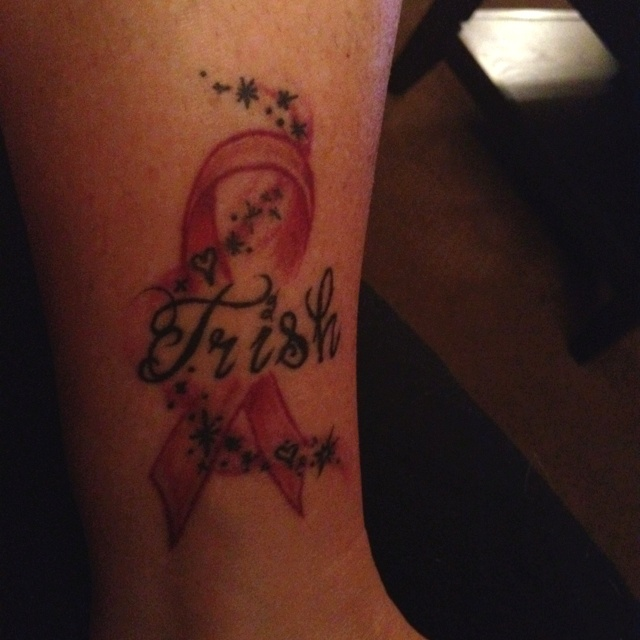 Breast Cancer Memorial Tattoo