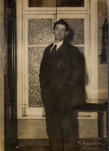 Michael Collins at the Gresham Hotel, January 1922.