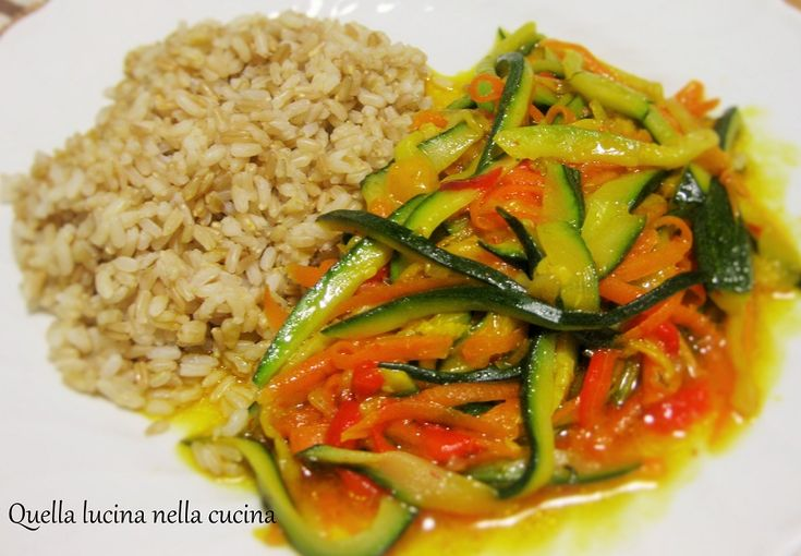 tre cereali con ragù di verdure #ricettavegana #veganrecipe #italianrecipe #ricettaitaliana #ricetteconzafferano