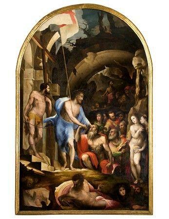 Discesa di Cristo al Limbo.  1530-1535. Pinacoteca Nazionale di Siena
