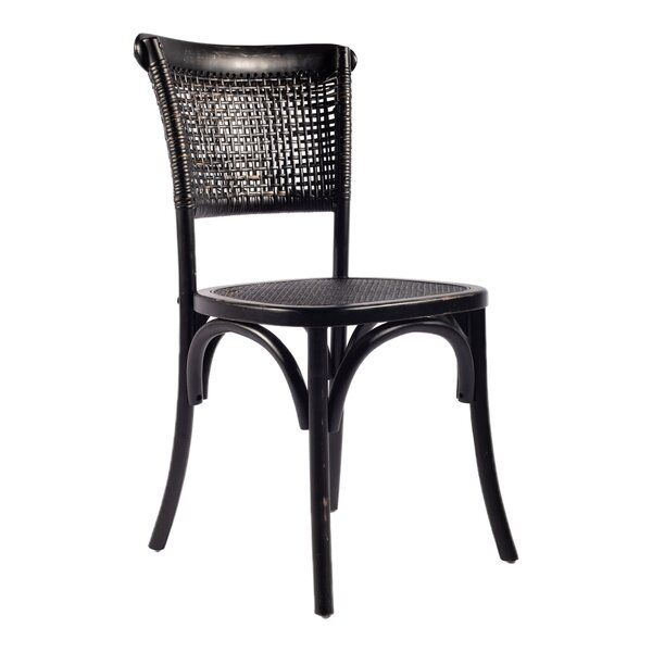 Beachcrest Home Rosamund Patio Dining Chair In 2019 Black Dining