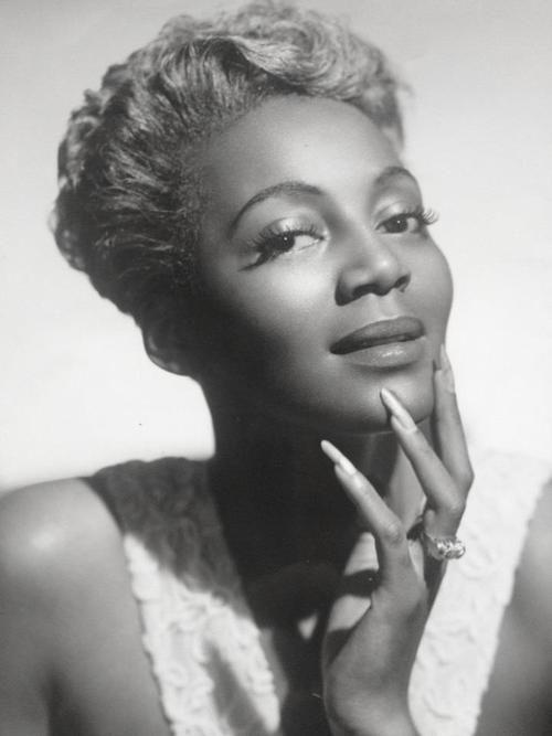 "Singer and actress Joyce Bryant, ""The Bronze Bombshell"", 1948, photo by Carl Van Vechten"