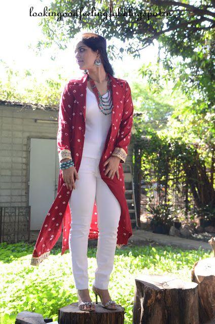 Dress Slimmer Series : The Long Jacket