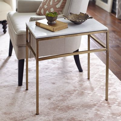 Ethel Marble Top End Table