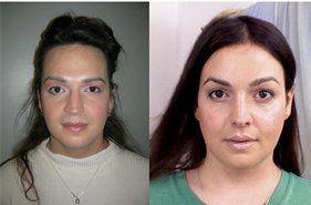 Women using double dildo
