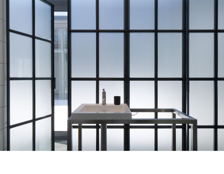 Bromont House   2012   Paul Bernier Architecte Like Opaque Glass Bathroom  Wall   Idea For